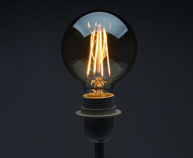 Gemütliche Stimmung mit Filament Leuchtmitteln im Vintage Design
