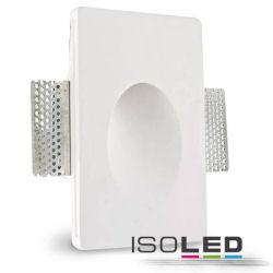 LED Wandeinbauleuchte aus Gips von Isoled