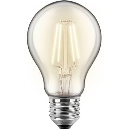 4W LED Filament Birne E27 470lm 2700K warmweiß 300° EEK:A++