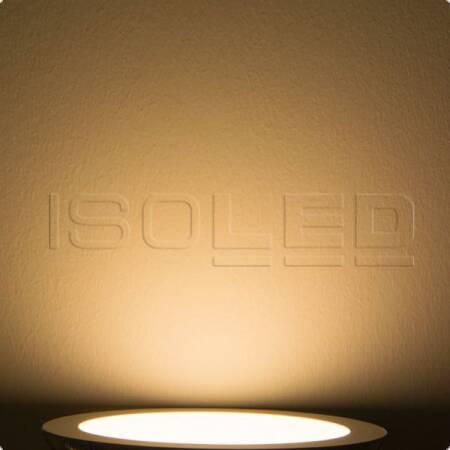 LED Panel KALLISTO 12W 840lm warmweiß Ø167mm dimmbar EEK:A+