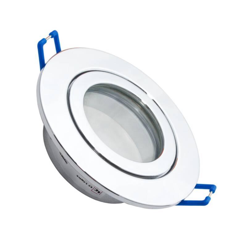 MR16 Aufbaurahmen schwenkbar weiß 12V Aufbau-Leuchte-Strahler-Spots rund//eckig
