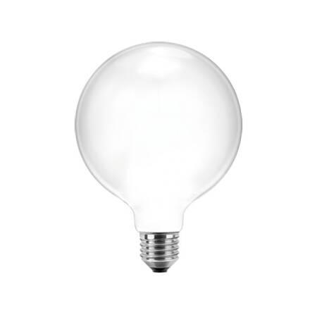 7W LED Filament Globelampe 95 opal E27 810lm 2700K warmweiß EEK:A++