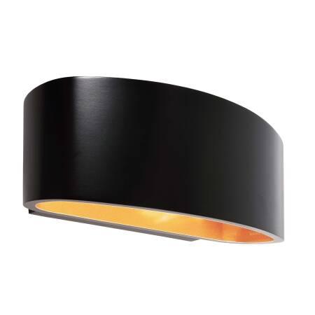 Wandleuchte Schwarz Gold G9 230v Indirekte Lichtwirkung Kapegoled