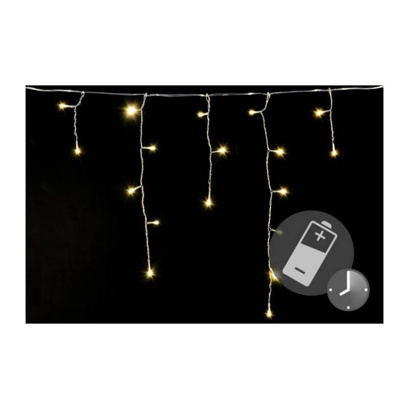 Eiszapfen 10 LED Lichterkette Batteriebetrieben