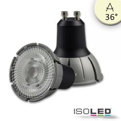 7W GU10 LED Vollspektrum COB 36° warmweiß 3000K, dimmbar...