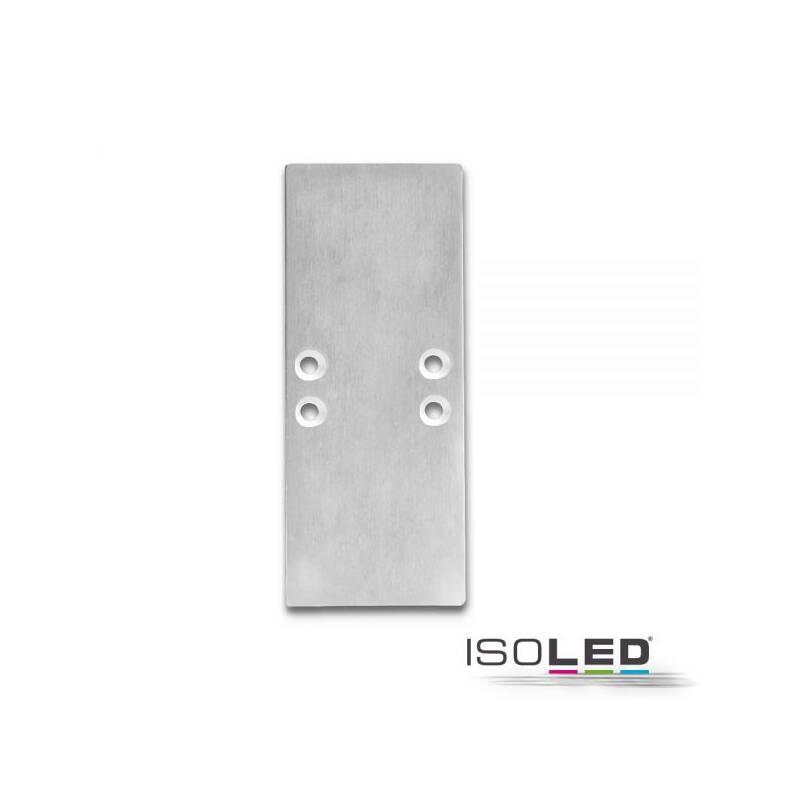 endkappe ec66 aluminium f r profil 2side 2 stk inkl. Black Bedroom Furniture Sets. Home Design Ideas